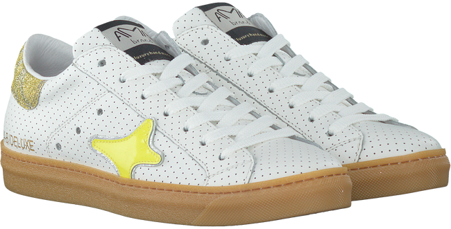 Witte AMA BRAND DELUXE Sneakers AMA-B/DELUXE DAMES  - large