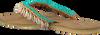 Beige HOT LAVA Sandalen BLUE LAGOON - small