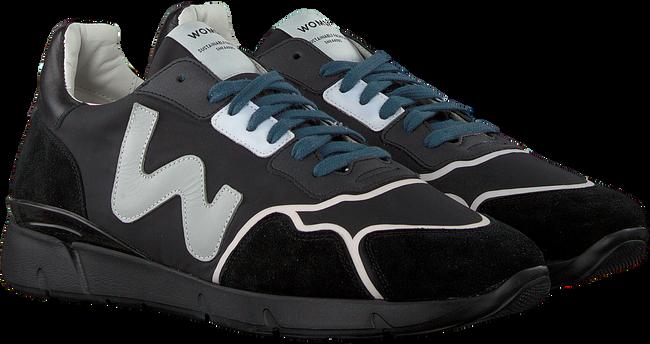 Zwarte WOMSH Lage sneakers RUNNY HEREN - large