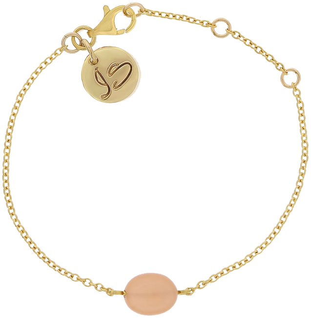 Gouden JEWELLERY BY SOPHIE Armband BRACELET BABY LOVE - large