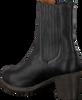 Zwarte SHABBIES Enkellaarsjes 182020094 - small