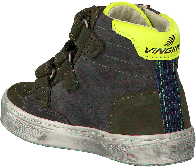 Groene VINGINO Sneakers GUUS VELCRO  - large
