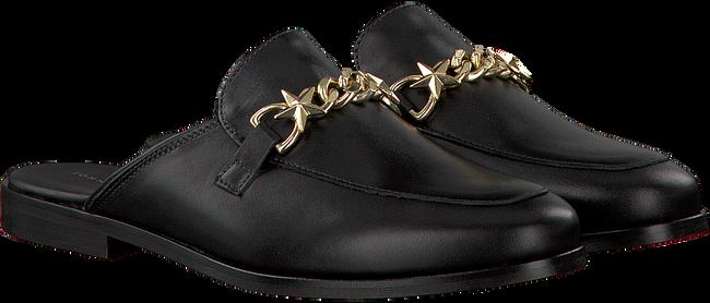 Zwarte TOMMY HILFIGER Loafers FEMININE SLIP ON LOAFER CHAIN  - large
