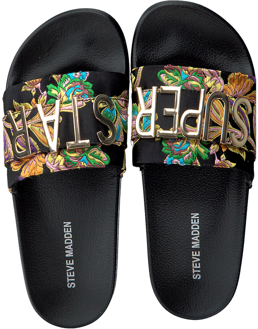 Zwarte STEVE MADDEN Slippers WORD - large