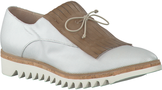 Witte DONNA CAROLINA Veterschoenen 31.438.058  - large
