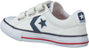 Witte CONVERSE Sneakers STAR PLAYER EV TRIPLE V OX KID  - small