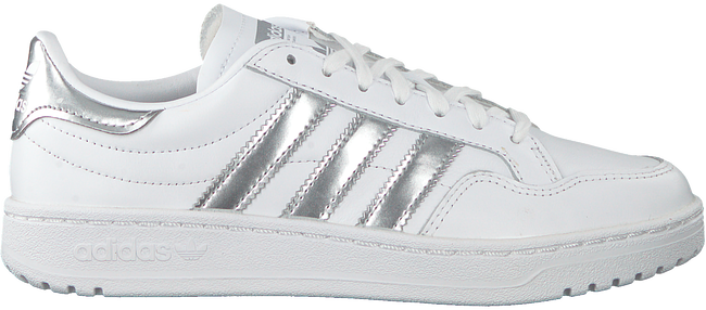 Witte ADIDAS Lage sneakers TEAM COURT - large
