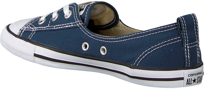 Blauwe CONVERSE Sneakers CHUCK TAYLOR BALLET LACE - large
