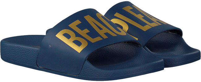 Blauwe THE WHITE BRAND Slippers BEACH PLEASE  - large