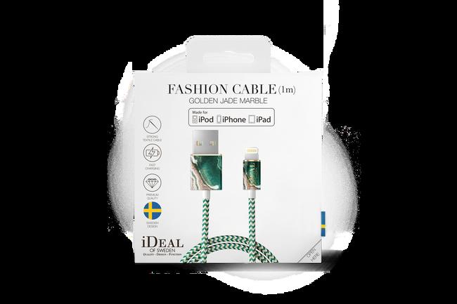 Groene IDEAL OF SWEDEN Telefoonhoesje FASHION CABLE 1M - large