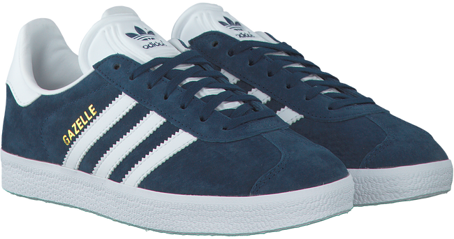 Blauwe ADIDAS Sneakers GAZELLE DAMES  - large
