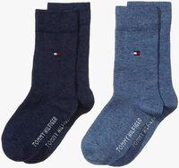 Blauwe TOMMY HILFIGER Sokken TH CHILDREN SOCK TH BASIC 2P - medium