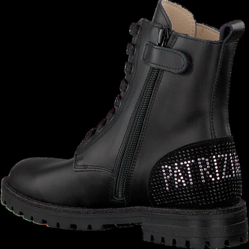 Zwarte PATRIZIA PEPE Veterboots PJ560  - larger