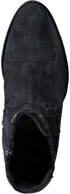 Zwarte SENDRA Cowboylaarzen 13914P  - large