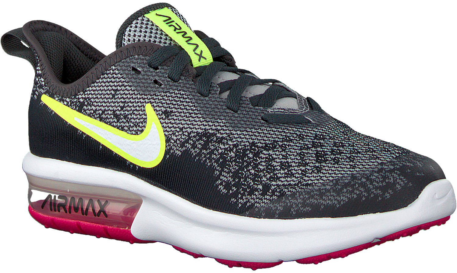 Grijze NIKE Sneakers AIR MAX SEQUENT 4 Omoda.nl