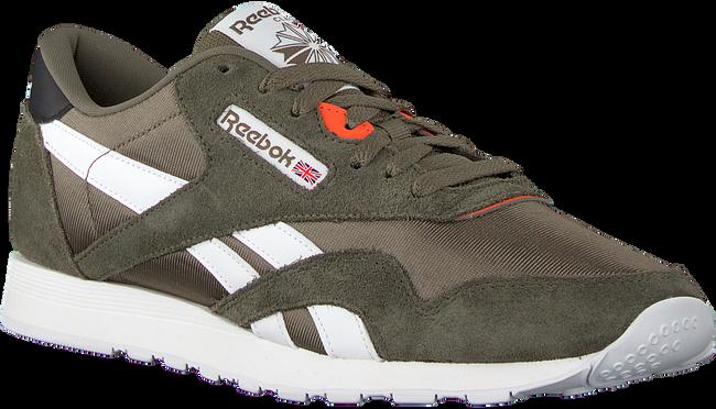 Groene REEBOK Sneakers CL NYLON MU  - large