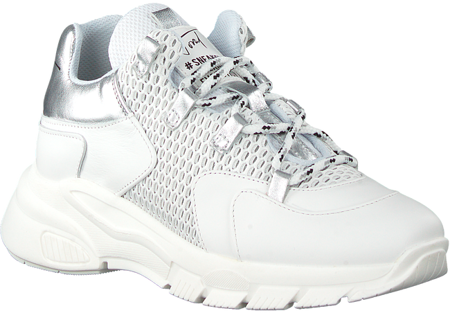 Witte TORAL Lage sneakers 11101  - large