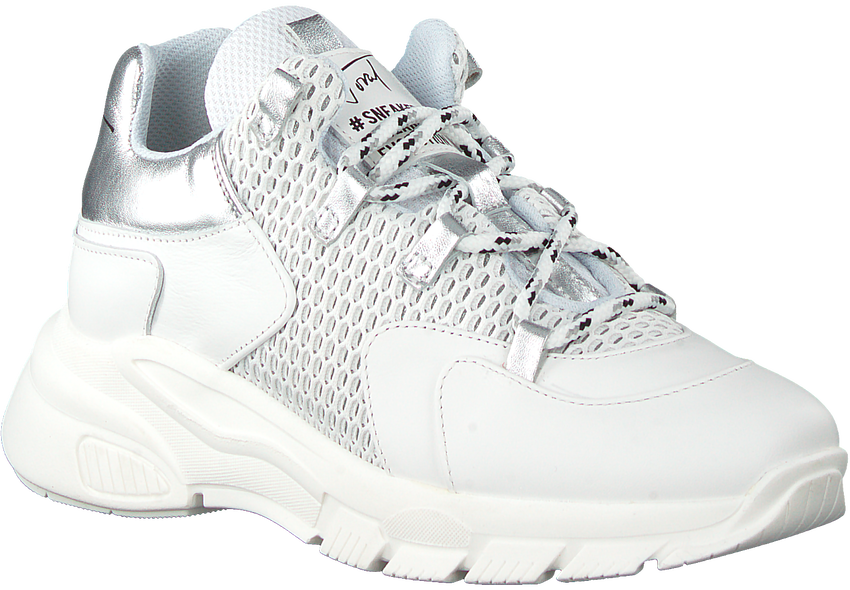 Witte TORAL Lage sneakers 11101  - larger