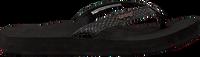 Zwarte REEF Slippers STAR CUSHION SASSY  - medium