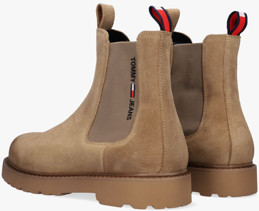 Bruine TOMMY JEANS Chelsea boots SUEDE CHELSEA - larger