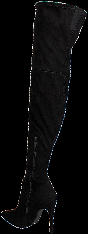 Zwarte KENDALL & KYLIE Overknee laarzen KKAYLA2 | Omoda