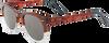 Bruine TOMS Zonnebril SUN DODOMA - small