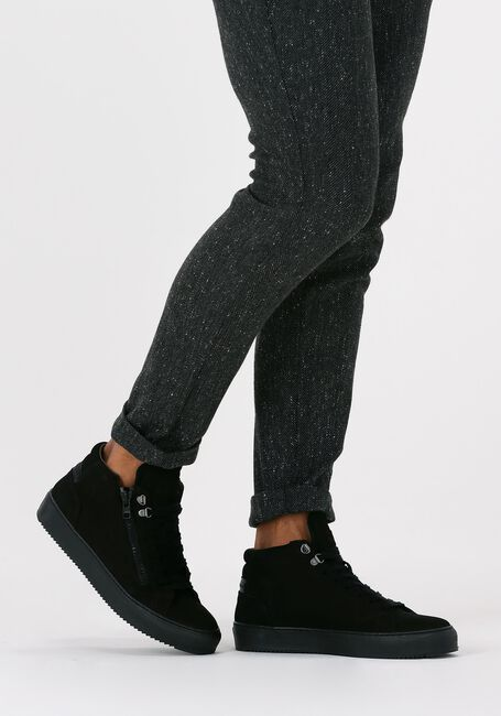Zwarte CYCLEUR DE LUXE Hoge sneaker CAPO  - large