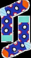 Paarse HAPPY SOCKS Sokken SUNNY SMILE  - medium