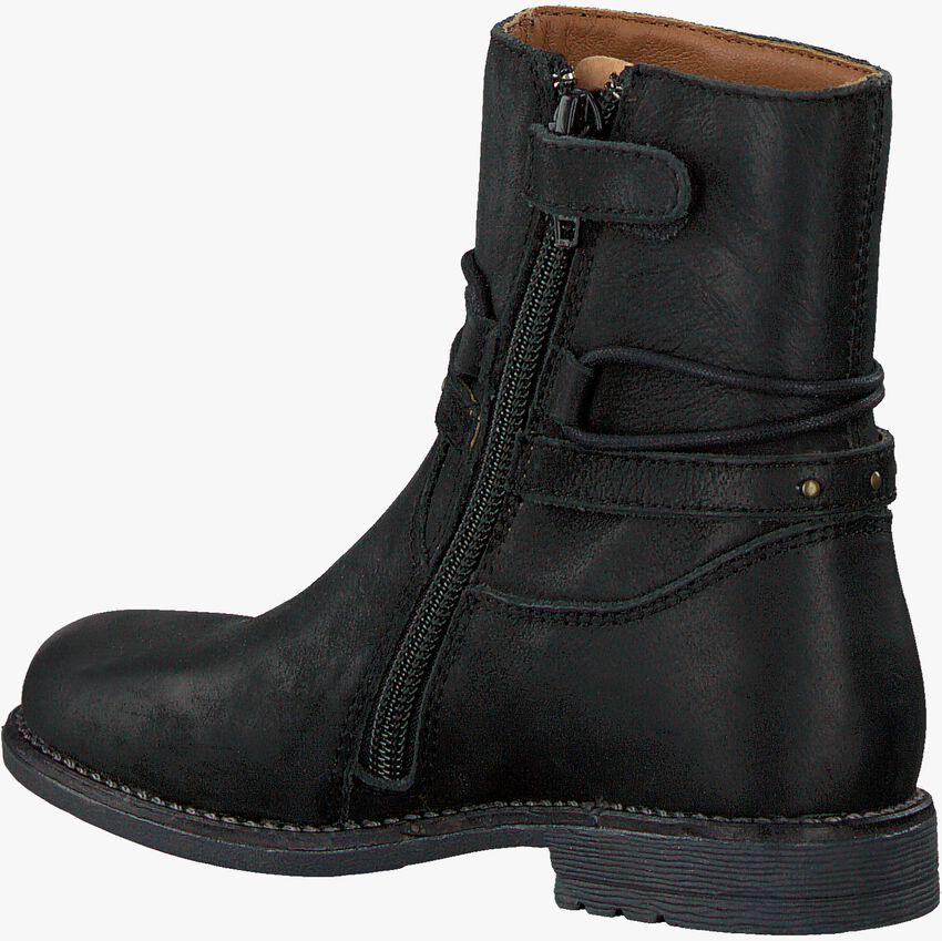 Zwarte OMODA Enkellaarsjes OM120673  - larger