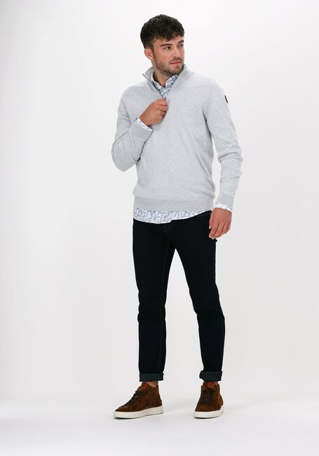 Donkerblauwe VANGUARD Slim fit jeans V850 DARK FOUR WAY - large