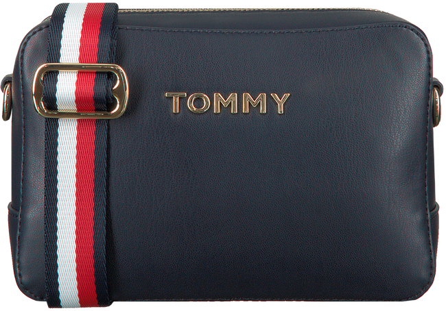Blauwe TOMMY HILFIGER Schoudertas ICONIC TOMMY CROSSOVER  - large