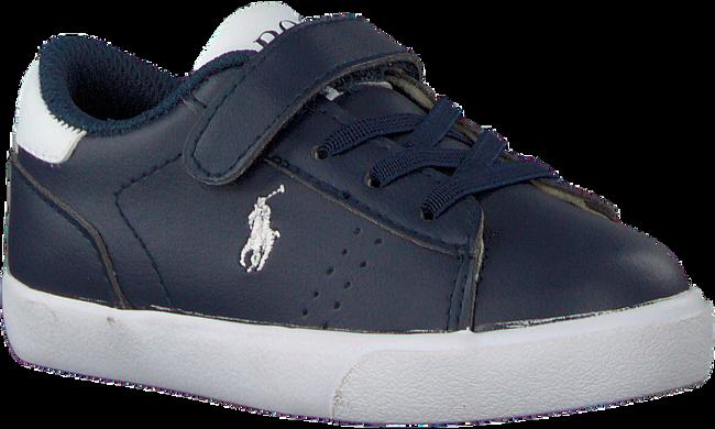 Blauwe POLO RALPH LAUREN Sneakers PIERCE EZ  - large