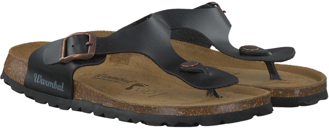 Zwarte WARMBAT Slippers 081503  - large