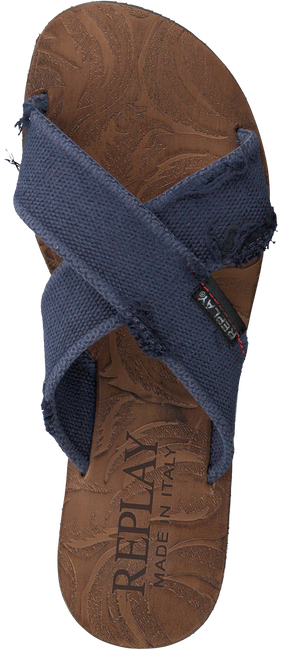 Blauwe REPLAY Slippers BALTIC  - large