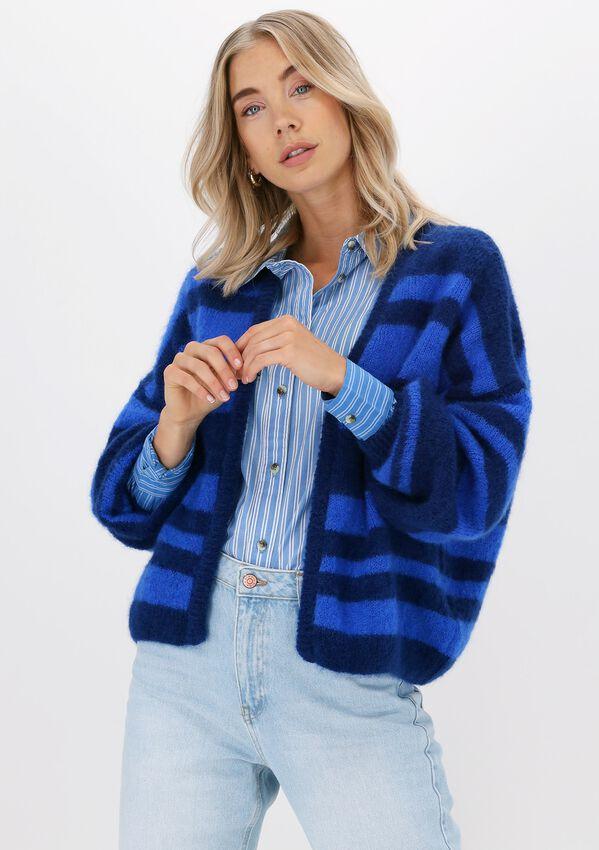 Blauwe LEON & HARRPER Vest NIGNA MMP01 PLAIN  - larger