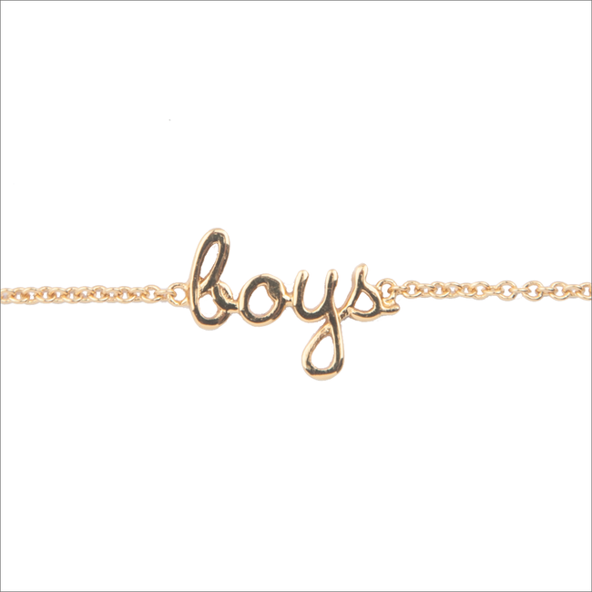 Gouden ALLTHELUCKINTHEWORLD Armband URBAN BRACELET BOYS - large
