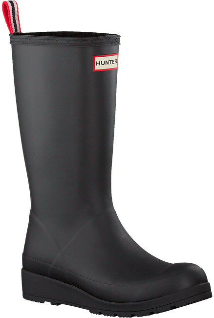 Zwarte HUNTER Regenlaarzen PLAY BOOT TALL - large