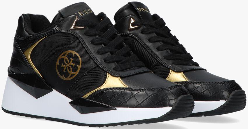 Zwarte GUESS Lage sneakers TESHA  - larger