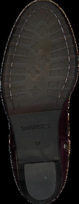 Rode SHABBIES Enkellaarsjes 182020093 - large