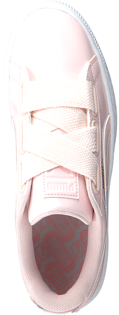 PUMA SNEAKERS BASKET HEART PATENT - large