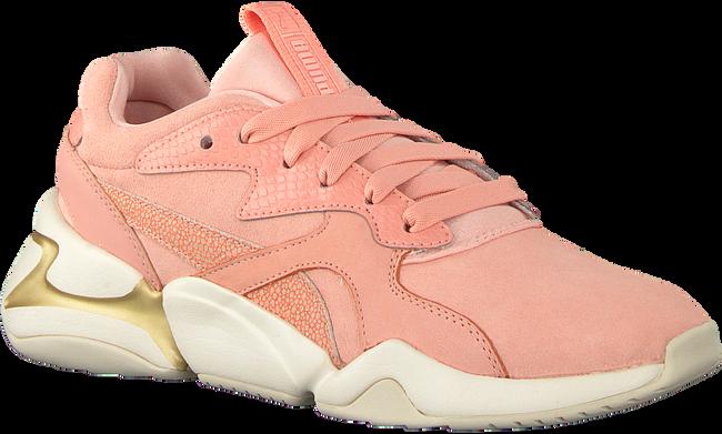 Roze PUMA Sneakers NOVA PASTEL GRUNGE  - large