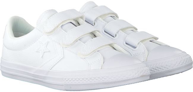 Witte CONVERSE Sneakers STAR PLAYER EV 3V OX KIDS - large
