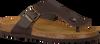 Bruine MAZZELTOV. Slippers 19-0007  - small