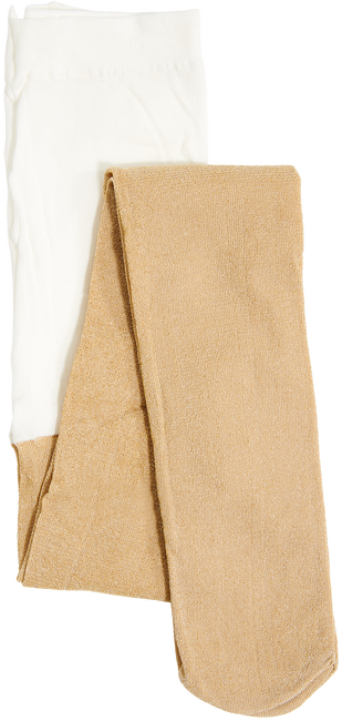 Gouden LE BIG Sokken SPARKLE TIGHT  - large