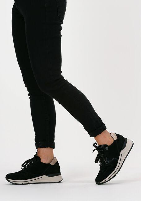 Zwarte GABOR lage sneaker 588 - large