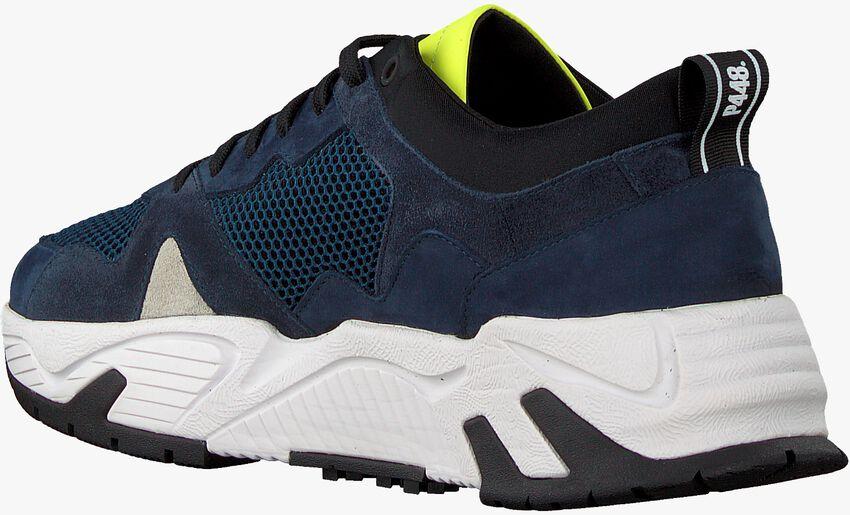 Blauwe P448 Lage sneakers DEAN MEN  - larger