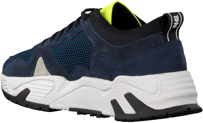 Blauwe P448 Lage sneakers DEAN MEN  - large