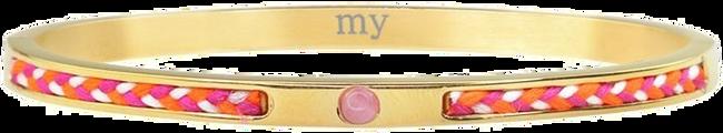 Gouden MY JEWELLERY Armband CORD BANGLE - large