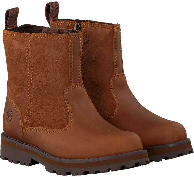 Cognac TIMBERLAND Enkelboots COURMA KID WARM LINED  - large