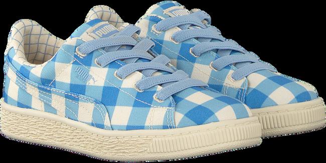 Blauwe PUMA Sneakers PUMA X TC BASKET CVS - large